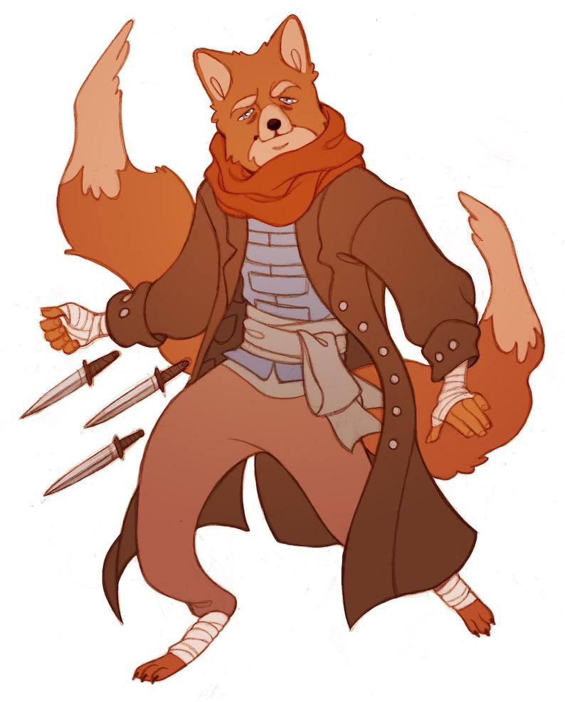 DnD RPG Custom Character Art Commission