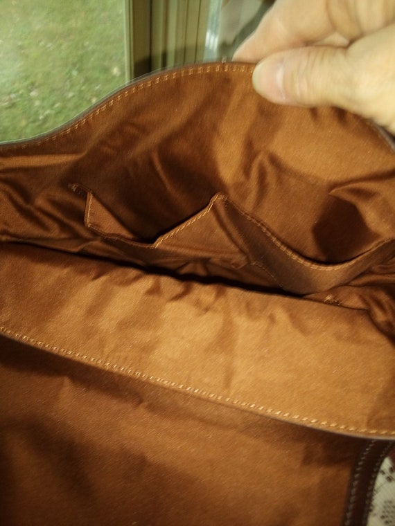 Fossil brown leather Claire backpack - image 4