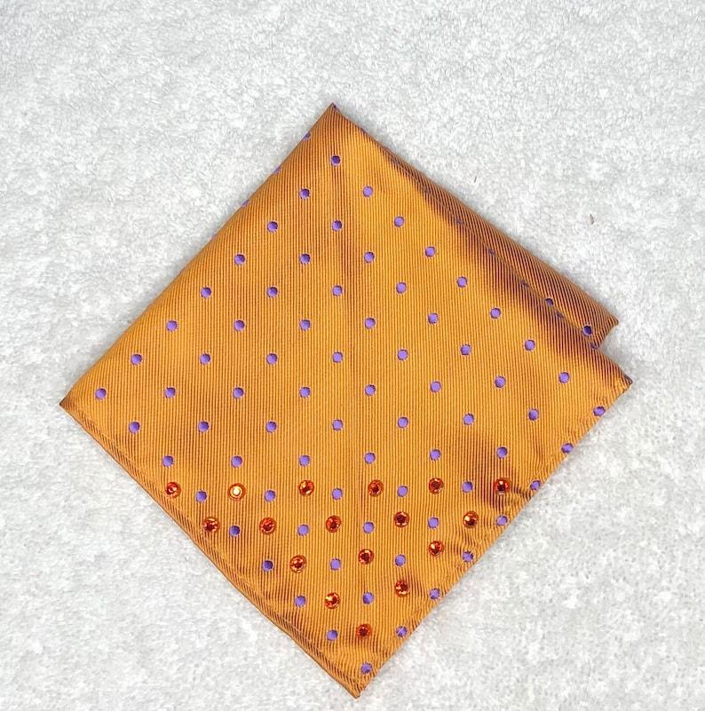 Rhinestoned Pocket Squares