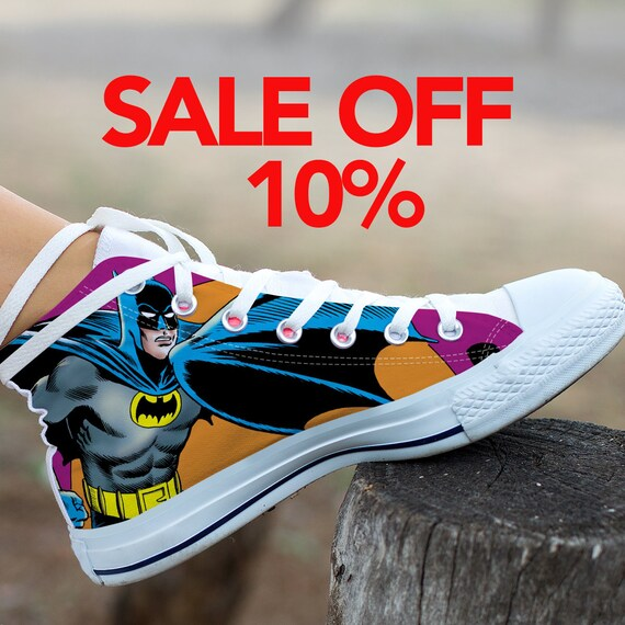 Converse Custom Sneaker Top Marvel Dark High Shoes Custom DC Batman Batman Shoes Batman Custom comics Knight Batman Superhero Birthday 1Fw5fB5q
