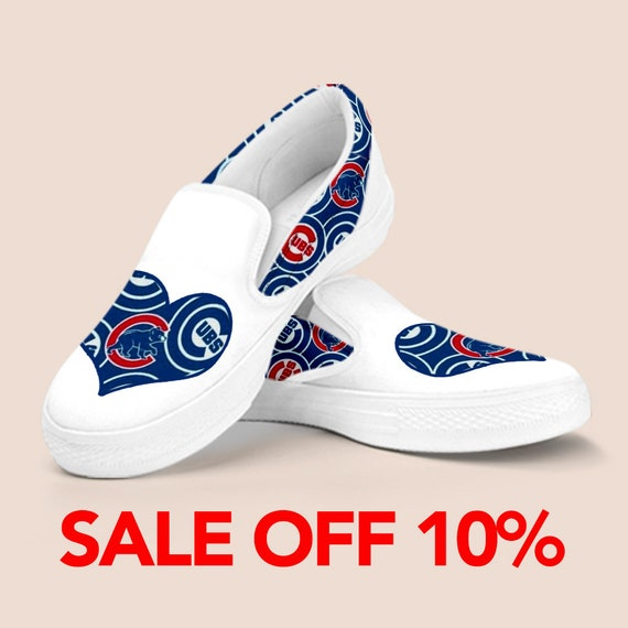 Slip Vans Outfit Cubs on Baseball Chicago Cubs Custom Cubs Shoes Slip Chicago Shoes Shoes Chicago on World Series Chicago Cubs Shoes qfOwgxn5E