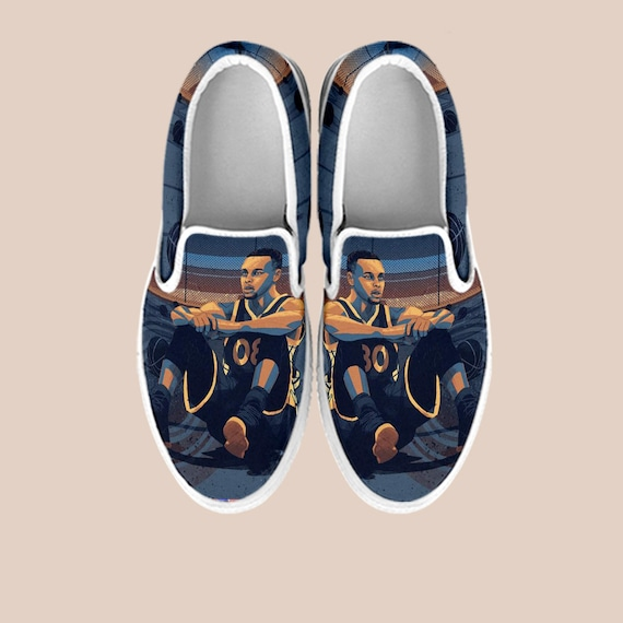 Vans Warriors On Shoes Slip Stephen Basketball King Shoes State Stephen Golden Curry Curry Custom Custom James Ons Steph Shoes Slip Curry wxxq7TOX