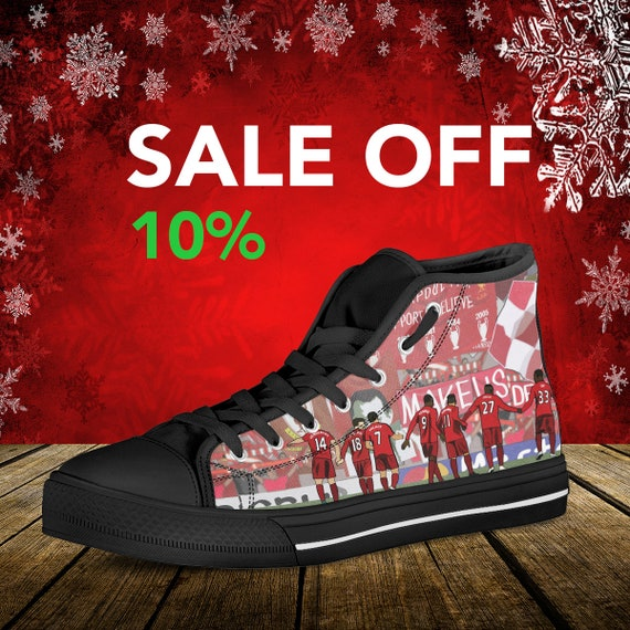 Custom Converse Football Walk Top High Liverpool Art Custom Alone Anfield FC Shoes Converse Shoes Liverpool Liverpool Never Sneaker You XqRw8Ux7O