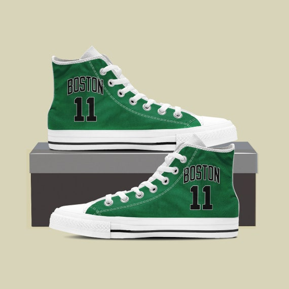 Custom Boston Basketball Sneaker cave Custom Celtics bird Celtics Man sport Boston Shoes Shoes Converse 11 NBA shoes Celtics larry tzP7gqBw