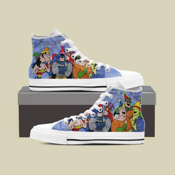 League High Custom New League Sneaker Justice Shoes League Year Justice Steppenwolf Shoes Custom Converse Sneaker Converse Top Justice qgfzw7f