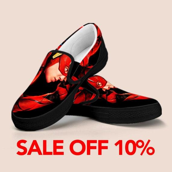 b90bd4b2197d Shoes Infinity Slip Vans Slip Custom on Batman War The Marvel Flash Custom  On Avengers on ...