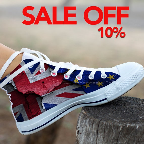 Flag England High Flag Flag Custom England Shoes Flag Converse Top England Flag Flag Shoes Converse Sneaker UK British England Custom wOITStzq