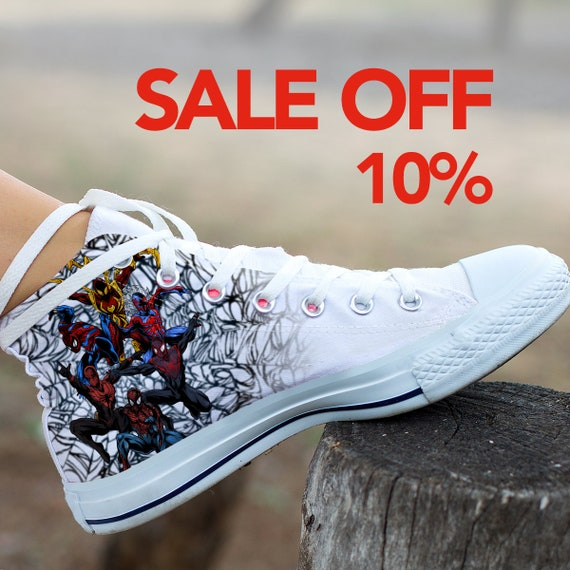Spiderman Shoes Parker Converse Peter Spider Marvel Custom Superhero Custom man Shoes Man Sneaker Converse Shoes Custom Spider Spiderman UFFxEvq