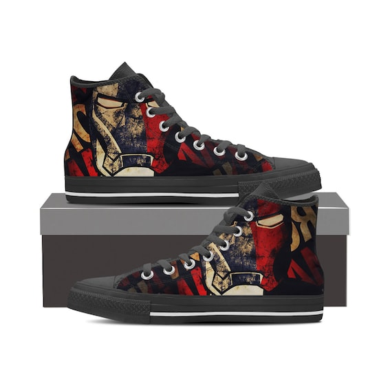 Converse Custom War Infinity Man Marvel Thanos Avengers Thor Captain Top Shoes Shoes Shoes America High Shoes Iron Hulk Thanos dpWcqpztH