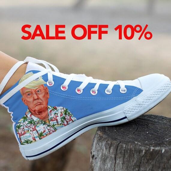 Donald Make My High Converse Trump Custom Not Converse Shoes Trump Custom Anti Donald Top Shoes President Great Trump America Trump 1wTtAqS