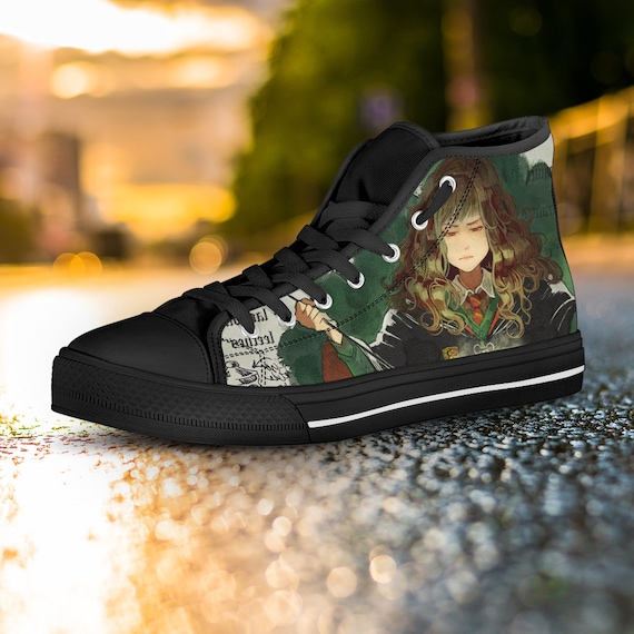 Converse Gryffindor Shoes Potter Custom Hufflepuff Ravenclaw Harry Hermione Shoes Harry Potter Slytherin Hogwarts Shoes Custom Sneaker vUI5zqEzwx