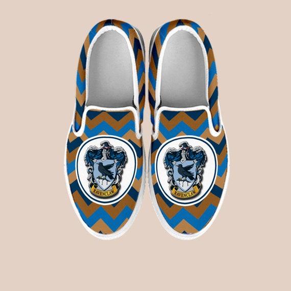 b6737a8b2e0075 ... Ravenclaw Custom Shoes on Ravenclaw Potter Custom Shoes Harry Hogwarts  Vans Slip Slip On On Harry