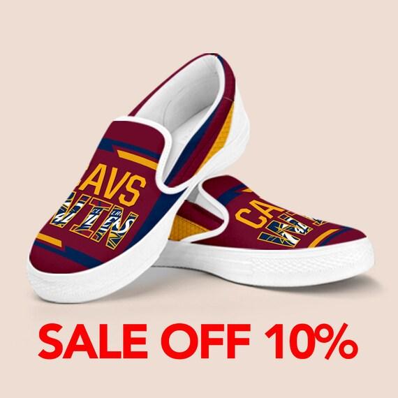 Custom Shoes Cavs Cavaliers Cleveland Baseball on Slip On NBA Shoes Custom Custom Shoes Wjnner Vans Cavaliers Cleveland King James Slip tZ8qrTwZ