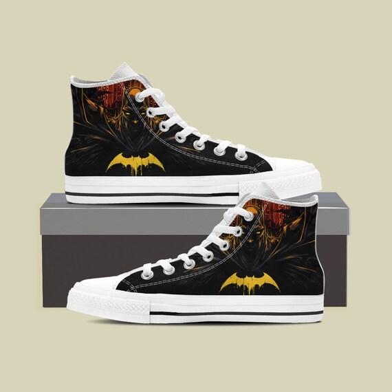 Shoes Batman Batman DC Shoes Birthday Marvel Sneaker Marvel Converse comics Joker Batman Superhero Custom Custom Batman Custom 77OqrPwEx