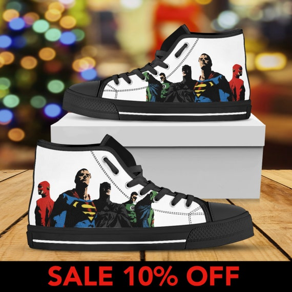 Top Custom Converse Converse Steppenwolf Sneaker Shoes High Justice Shoes League League League Justice Justice Top Custom Sneaker High fwgqSES