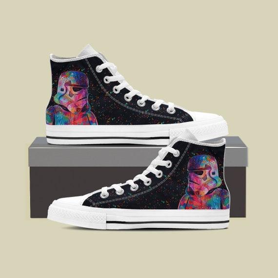 Converse Star Star Wars Wars Wars High Wars Star Custom Custom Sneaker Wars Top Star Converse Shoes Vader Star Star Darth gift wars dS0gX80q