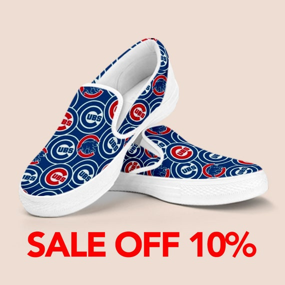 Slip Cubs Cubs Baseball Shoes on Series Custom Cubs World Cubs Chicago Shoes Vans Shoes Outfit Chicago Shoes Chicago Cubbies Unisex FEqqxnw1R