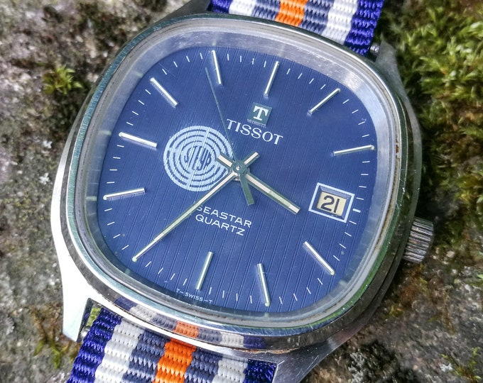 "TISSOT Seastar ""Steyr"" - Date - Tapestry dial - Swiss Made in house quartz movement"