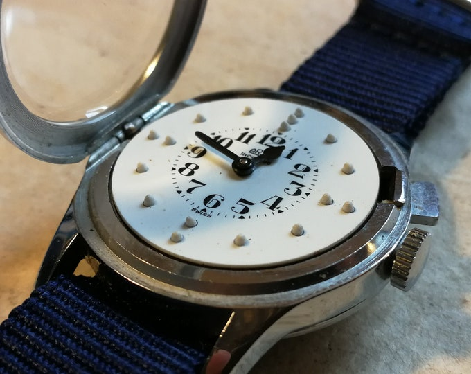 ARSA Vintage Braille Watch - Auguste Raymond SA
