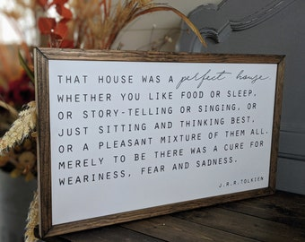 J.R.R. Tolkien quote sign