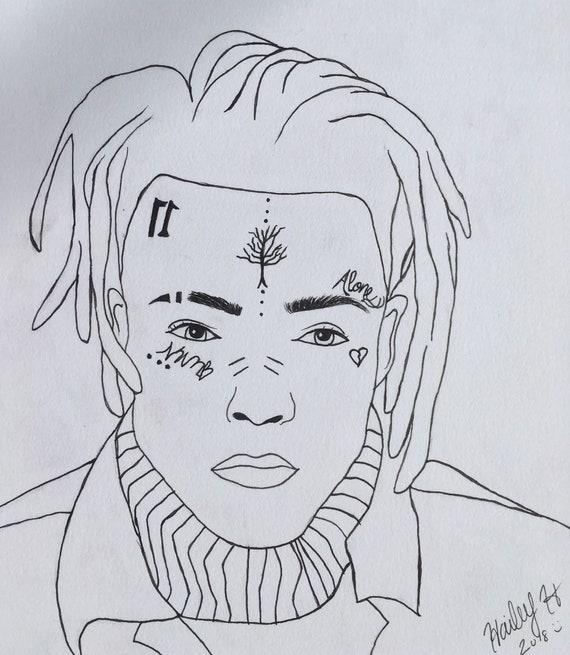 Drawing Xxxtentacion: XXXTENTACION Drawing