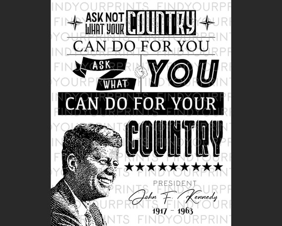 GIFT ART PRINT POSTER # 2 A3//A4 SIZE KENNEDY FOR PRESIDENT  WALL DECOR