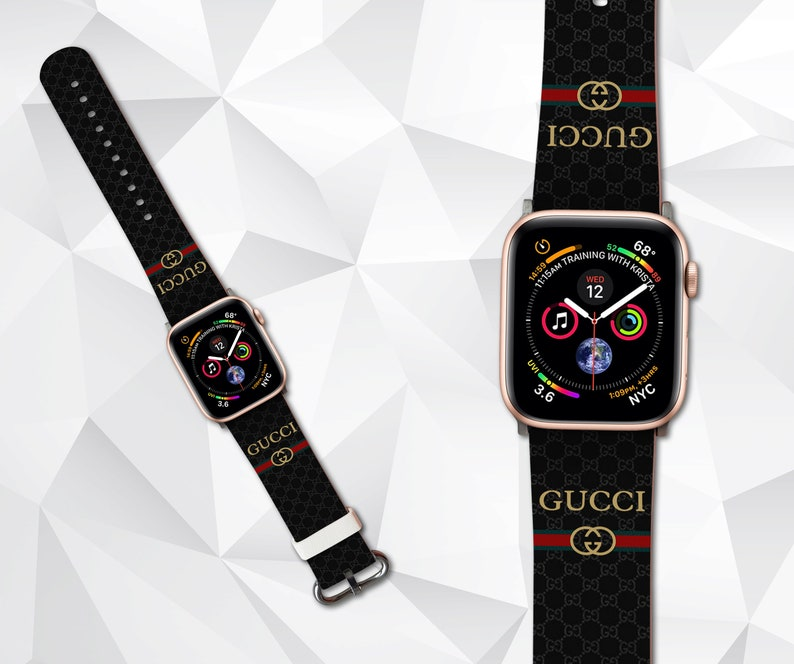 42fbdff4078 Inspired by gucci Apple watch band iWatch Band Logo Apple