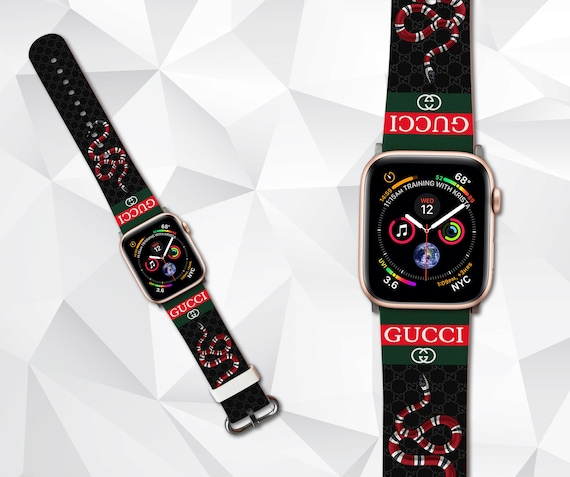 inspired by Gucci iWatch band 42mm Apple watch band Apple