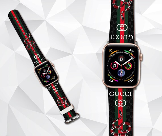 66998b73d18 These are the only colors available for the Apple Watch adapters. Apple  Watch Band Strap Gucci Pattern Sport Replacement NYLON Band 38mm or 42mm