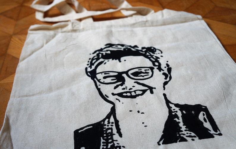 Unique bag by portrait