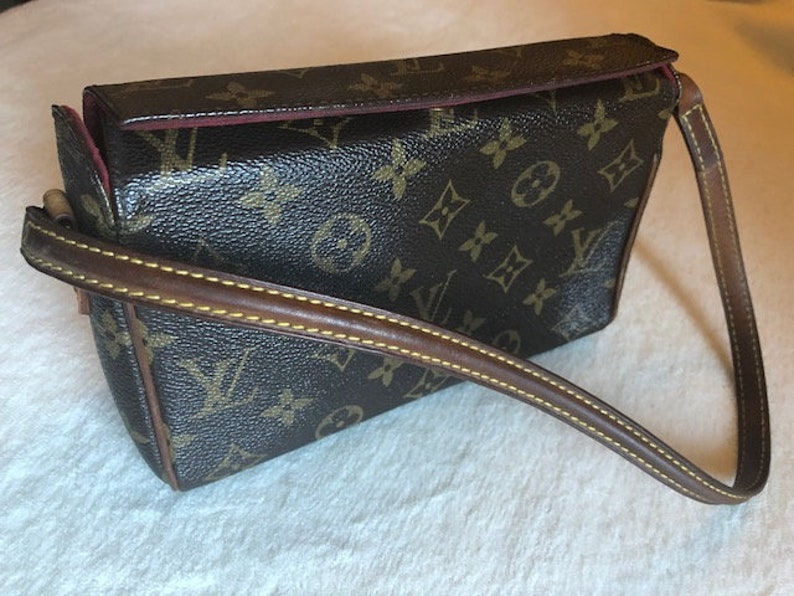 32a5a821e7b6 Authentic Louis Vuitton LV Vintage Brown Monogram Recital