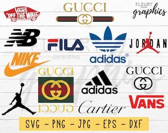 cda5420089a Brand Logo SVG Cut File For Cricut And Silhouette - Brand SVG Fashion Svg  Logo Svg Eps Png College Logo Vector Svg Files Shirt Svg