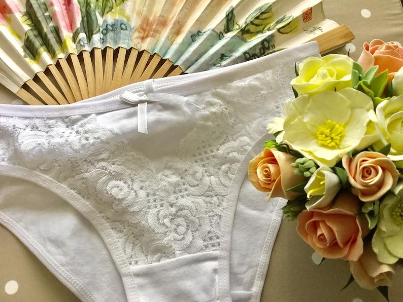 3b370ceaf Cotton lace panties for women lace panties cotton gusset