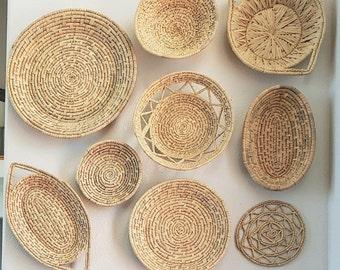 Wall Basket Wall Art Rope Basket Wall Hanging Home D\u00e9cor Basket Gift ideas Handmade Rope Wall Basket Rope Basket Wall D\u00e9cor Basket,