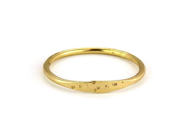 Simple Ring Minimal Gold Ring Gold Band 14k Gold Filled Ring Stacking Ring Gold Ring 1.2 mm Band Hammered Ring Dainty Ring