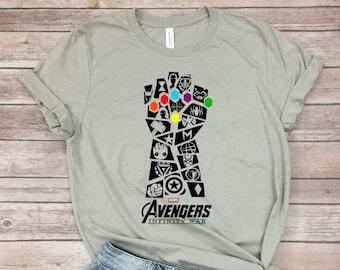 6da1c49acff Avengers Infinity War Tshirt