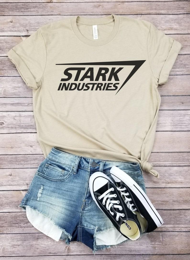 c9fedf800396 Stark Industries Shirt Inspired by Ironman Movie Tshirt image ...