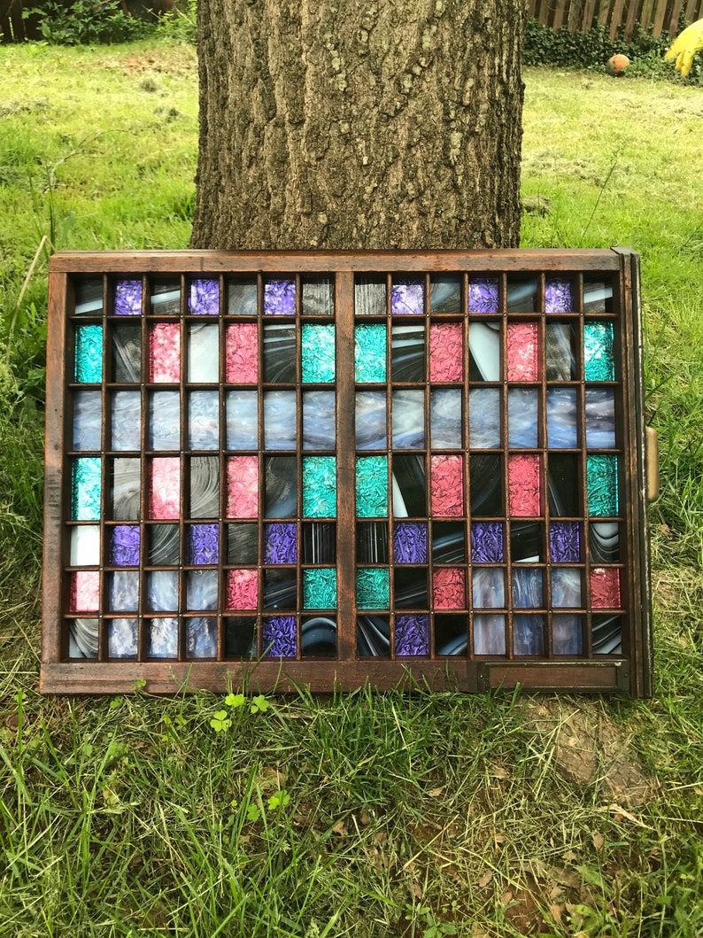 Wall Art Decor Stained Glass Wall Art