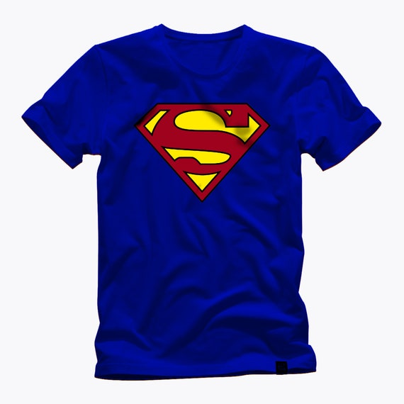 SUPERMAN CLASSIC and TRADITIONAL awesome shield logo indestructable materials