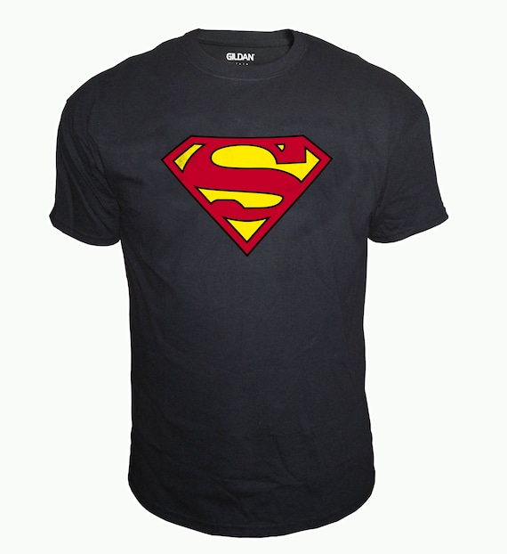 SUPERMAN CLASSIC Logo SHIRT Men Boys sizes and colors