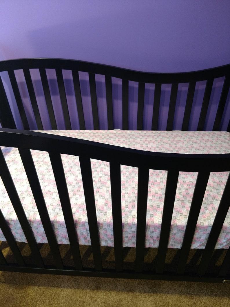 baby girl crib sheet baby shower gift newborn baby gift blue pink purple baby sheet baby girl unicorn fitted sheet Unicorn Crib Sheet