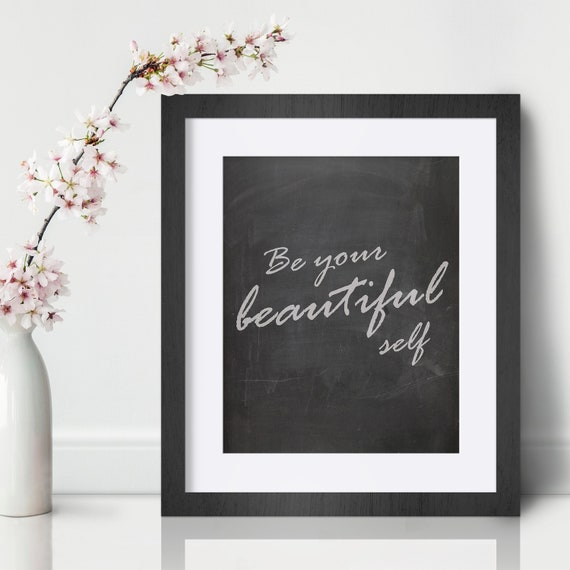 Motivational inspirational quote positive life poster picture print wall art 344