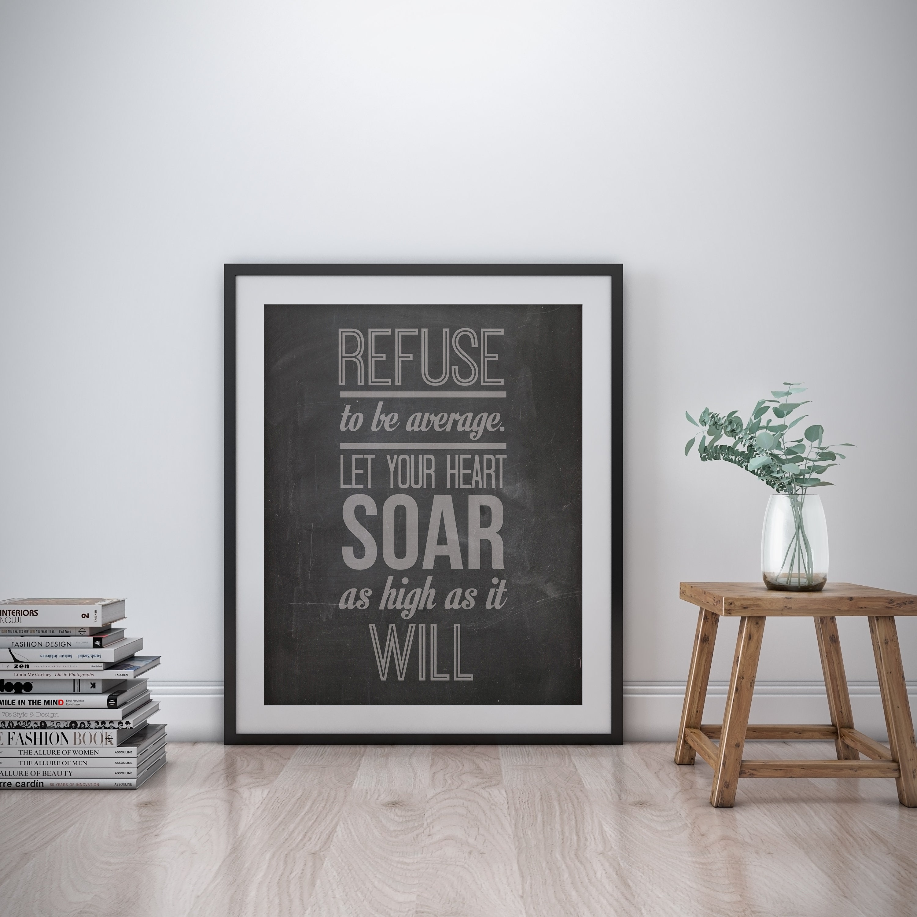 Motivational inspirational quote positive life poster picture print wall art 328