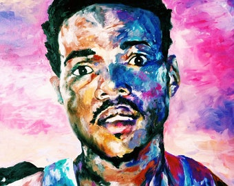 Chance The Rapper Poster Print Art Painting Home Decor Wall