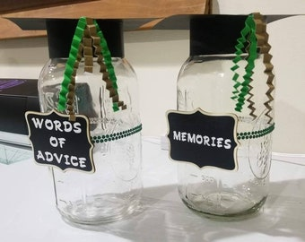 Graduation Mason Jar Etsy