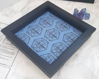 Caduceus ClayCritical Role-themed collapsible dice tray Healing Hedge