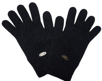 8311467a6e0949 Handschuhe aus der Possumhaarfaser black