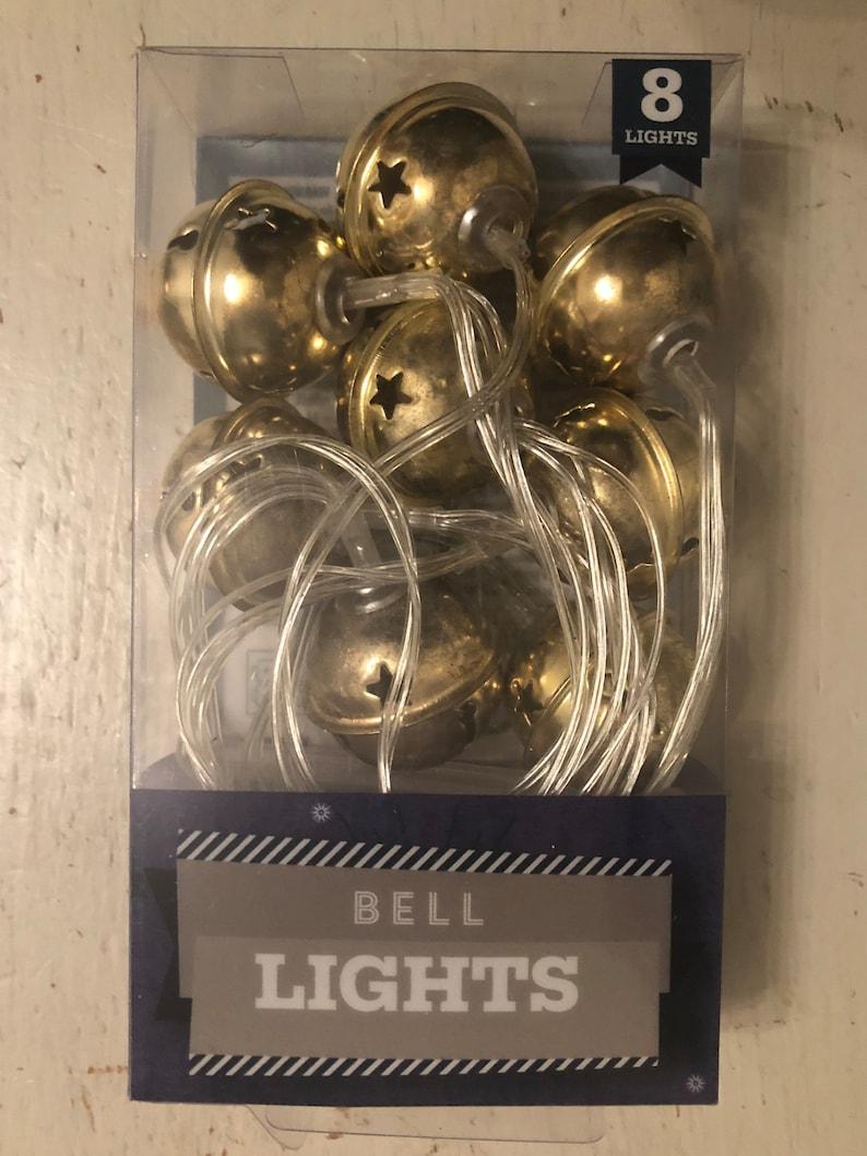 Shabby Chic Gold Bell Lights