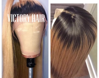 Lace Front Wig Etsy