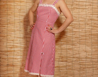 62e1cb894a1b Vichy   cherries dress